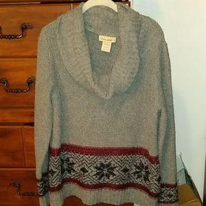 Large Oversized Fuzzy Sweater